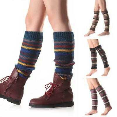 Women Casual Soft Breathable Stretchy Print Leg Warmers Socks EN24H 01