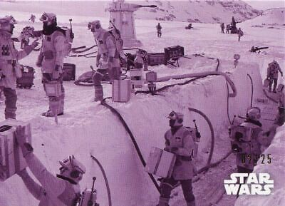 Star Wars ESB Black /& White Sepia Base Card #83 An Unconventional Welcome