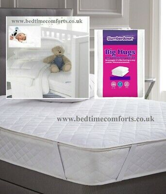 120cm X 60cm Bedtime Comforts Ltd COT//TRAVEL COT QUILTED Mattress TOPPER VARIOUS LENGTHS 47 x 24 Elasticated