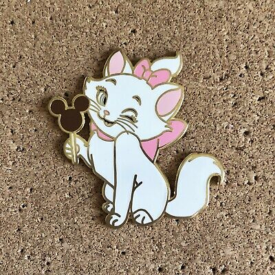 Disney Aristocats Marie The Cat with Mickey Bar Fantasy Pin LE 50