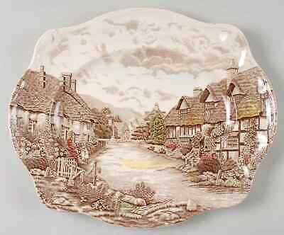 """Johnson Brothers OLDE ENGLISH COUNTRYSIDE 15 3/8"""" Oval Serving Platter 281781"""
