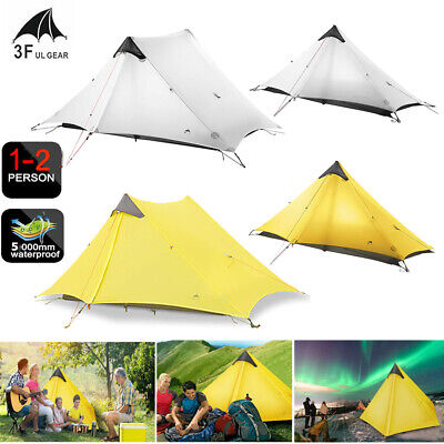 dbf60ecf32b5 3F UL GEAR Ultralight 2 person tent, 4 season - $153.44 | PicClick
