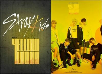 STRAY KIDS: CLE2: YELLOW WOOD* CD+Full Package Poster (JYP) Mini Album K-POP