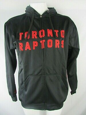 Toronto Raptors Men's Big & Tall Full Zip Hooded Sweatshirt NBA