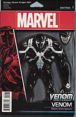 Venom Space Knight #1 Christopher Action Figure Variant Marvel ANAD 2015