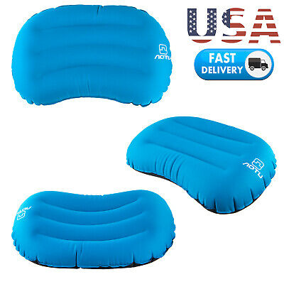 Air Compressible Portable Blow Up Ultralight Inflatable Camping Outdoor Pillow