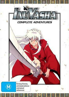 Inuyasha : Eps 1-167 | Series Collection : + Final Act Eps 1-26 - DVD Region 4 F