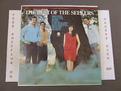 Th Best Of The Seekers Greatest Hits 1968 Issue Lp Sm-2746