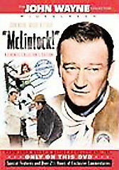 New Sealed The John Wayne McLintock!(DVD, 1963, Authentic Collector's Edition)