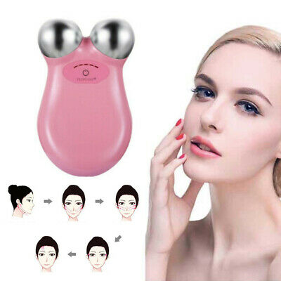 Microcurrent Face Lift Machine Skin Tightening Wrinkle Remover Massager Flow HOT