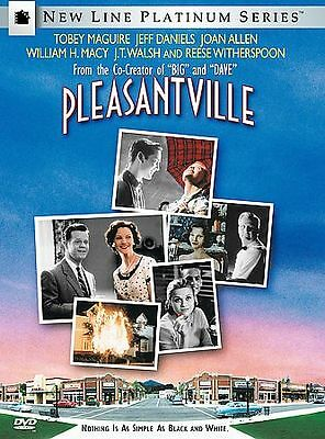 Pleasantville (DVD Movie) Tobey Maguire Jeff Daniels Reese Witherspoon