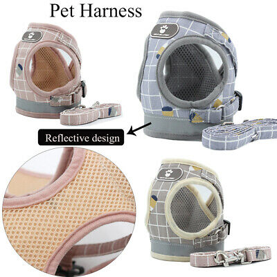 Vest Walk Leash Breathable Dog Harness Collar Chest Strap Pet Traction Rope