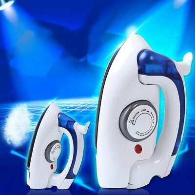 Foldable Compact Steam Travel Iron Dual Voltage Thermostatic Control Easy Glide