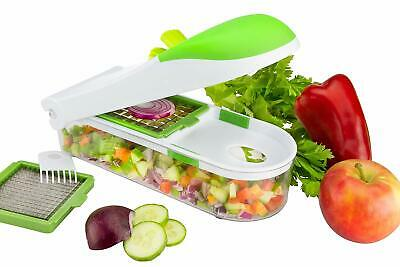 Brieftons Quickpush Vegetable Slicer Fruit Cheese Cutter Kitchen Food Chopper