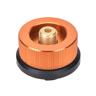 Picnic Burner Cartridge Gas Fuel Canister Stove Cans Adapter Converter HeaRSDE