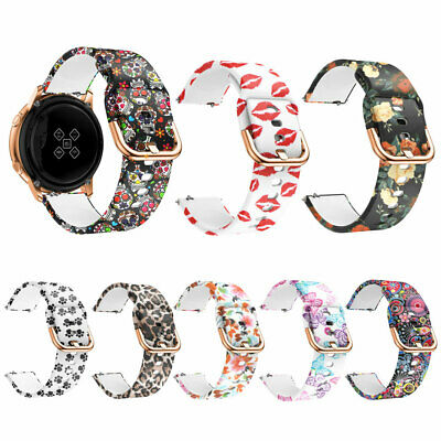 New 20Mm Silicone Smartwatch Bracelet Strap Band For Samsung Galaxy Watch Active