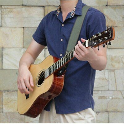 Guitar Strap Comfortable 50mm Wide Cotton for Bass Electric Acoustic Stage ZE