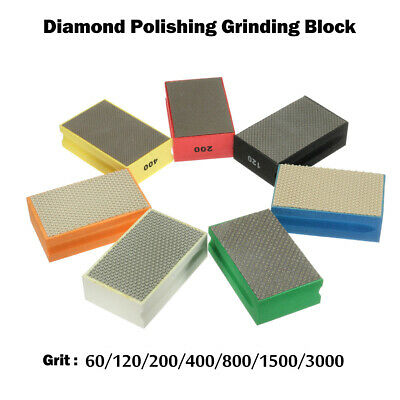 60-3000# Diamond Hand Polishing Pad For Stone Granite Marble Sharp edges