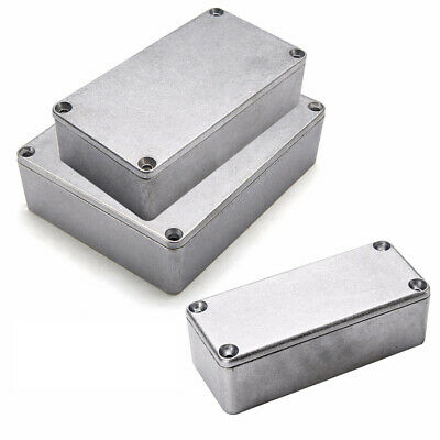 Aluminum Electronics Enclosure Project Box Case Metal Electrical DIY Waterproof