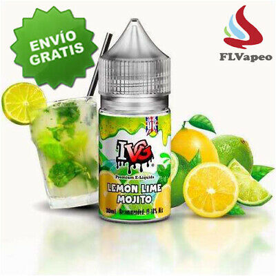 IVG Concentrates Lemon Lime 30 ml - Opc.:Base 200 ml - NIcokits ( Aroma Vapeo )