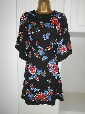 Smart Lined Dress By Red Herring In Vg Con Size Uk 14 -16 Bust 38""
