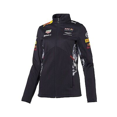 JACKET ladies Soft Shell Red Bull Racing Formula One 2017 Womens PUMA F1 NEW!