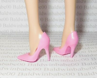 MATTEL FOR BARBIE SKINNY PINK POINTED CT SHOES