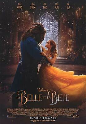 Beauty and the Beast - original DS movie poster - D/S 27x40 FR