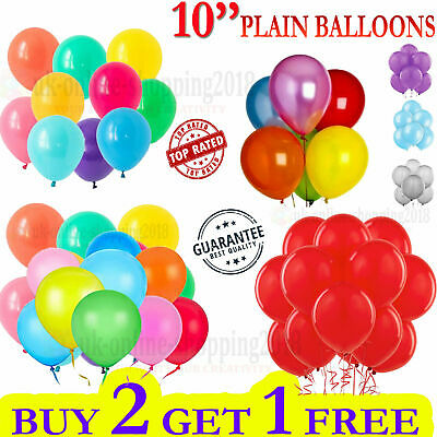 30 X Large PLAIN BALOONS BALLONS helium BALLOONS Quality Party Birthday Wedding.