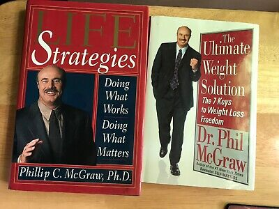 DR  PHIL LIFE Strategies SET: Workbook AND Journal - NEW