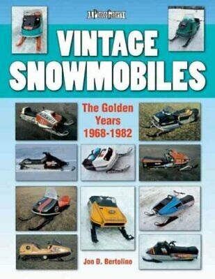 Photo Gallery: Vintage Snowmobiles : The Golden Years 1968-1982 by Jon...