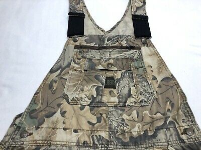 c420dd11ab888 Mens Liberty Bib Overalls Advantage Camo Carpenter Hunting Size 40 Reg Made  USA
