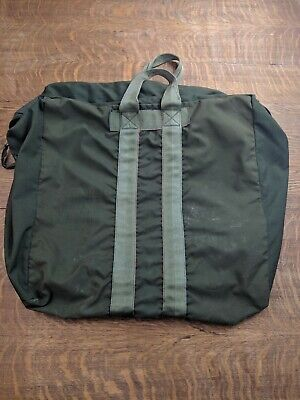 VTG 1990's US Military Issue USAF Navy Air Force Kit Bag Flyers Flight Duffel
