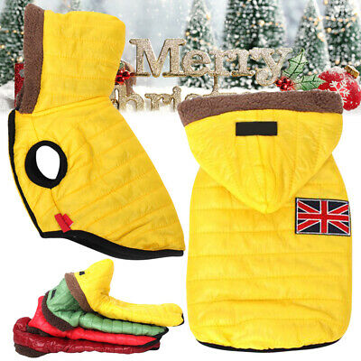 Dog Coat Winter Warm Clothes Thickening Dog Jacket Clothing For Pet Dogs Costume