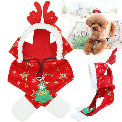 Dog Cat Hat Puppy Pet Costume Cap Scarf Party Gift Christmas Birthday New Design