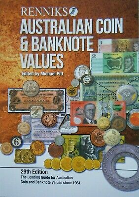 Renniks AUSTRALIAN COIN & BANKNOTE VALUES 29th Ed NEW in 2019 - Softcover