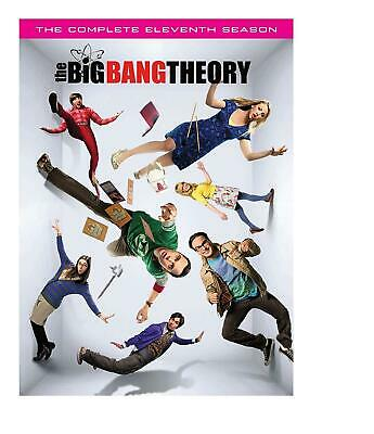 The Big Bang Theory: The Complete Eleventh Season 11 (DVD 2018), NR New & Sealed
