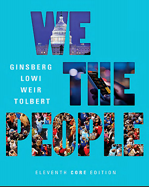 ⚡⚡We the People eleventh 11th Core Edition Benjamin Ginsberg⚡⚡