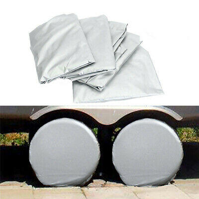 4x  27~29 Car Wheel Tire Tyre Cover Bag For Truck Trailer RV Camper Protector
