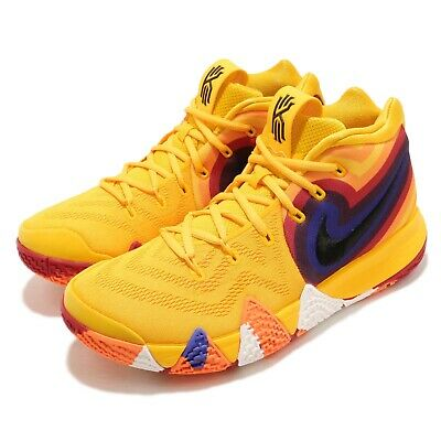 6d2f19def68 Nike Kyrie 4 EP 70s Uncle Drew Decades Pack Yellow Basketball Shoes 943807- 700