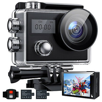 "Campark Action Kamera 2"" LCD Ultra HD 4k WiFi Sports Kamera DVRCAM Fernbedienung"