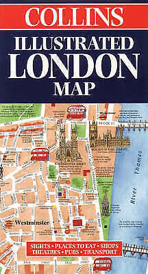 Illustrated London Map (Collins British Isles and Ireland Maps), , Very Good Boo