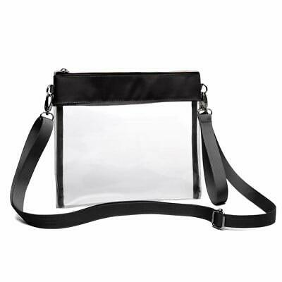 half off e6b76 5720a Clear Crossbody Purse Nfl Stadium Approved Clear Bag With Adjustable  Shoulder St