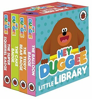 Hey Duggee Little Library By Ladybird Board Book NEW Free Shipping!