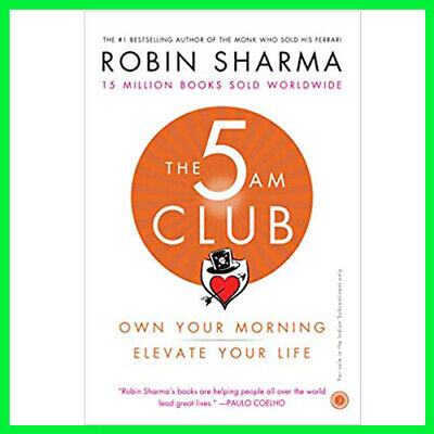 The 5 AM Club Own Your Morning Elevate Your (E-book){PDF}⚡Fast Delivery(10s)⚡