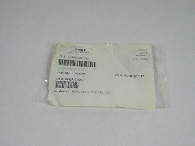 Able Seal 2-216S700-FDA Silicon O-Ring 28.17mm ID 35.23mm OD 10-PK ! NWB !