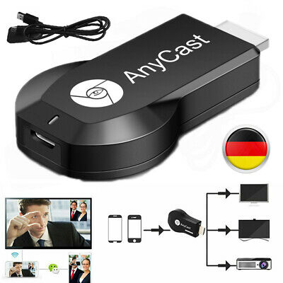 WiFi Display 1080P Full HD HDMI TV Stick Airplay Dongle Chromcast DLNA Wireless