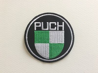 A067 // Ecusson Patch Aufnaher Toppa / Neuf / Puch / 7.5 Cm