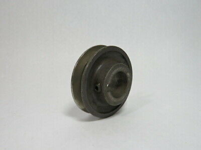 """Browning AK28X1 V-Belt Pulley 1"""" Bore 1 Groove 2-3/4"""" OD A Belt ! WOW !"""