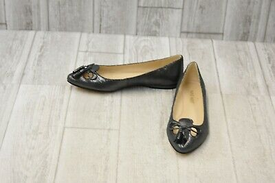 best place pretty and colorful half price NINE WEST SIMILY Ballet Flats - Women's Size 5M - Pewter ...